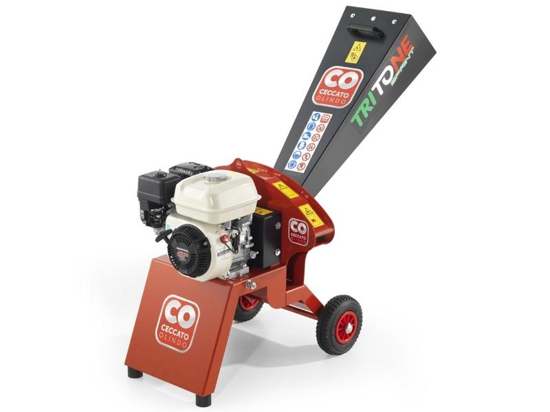 Gartenhaecksler Vermietung - Benzinmotor