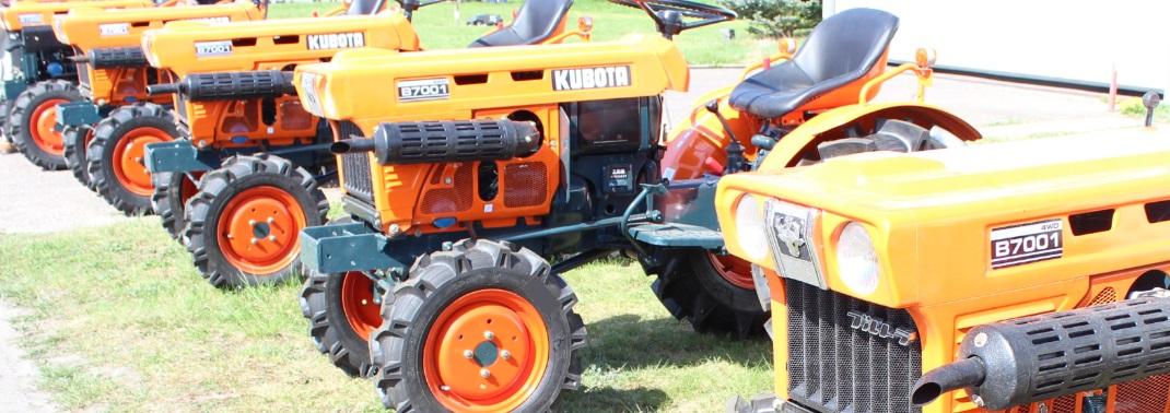 Header gebrauchte Kleintraktoren Kubota